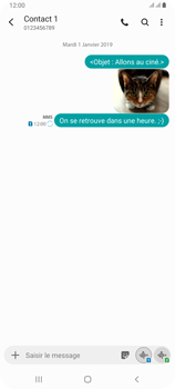 Samsung Galaxy A80 - Contact, Appels, SMS/MMS - Envoyer un MMS - Étape 23
