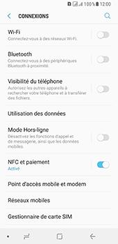 Samsung Galaxy A8 - Internet et connexion - Connexion avec un équipement multimédia via Bluetooth - Étape 6