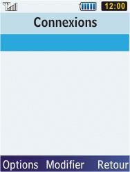 Samsung C3350 Xcover 2 - Internet - Configuration manuelle - Étape 12