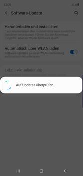 Samsung Galaxy Note 10 - Software - Installieren von Software-Updates - Schritt 6