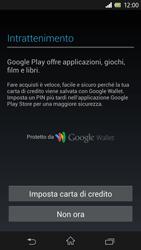 Sony Xperia Z - Applicazioni - Configurazione del negozio applicazioni - Fase 14