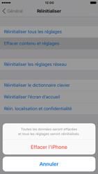 Apple iPhone 6s iOS 10 - Téléphone mobile - Réinitialisation de la configuration d