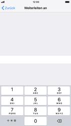 Apple iPhone 7 - iOS 12 - Anrufe - Rufumleitungen setzen und löschen - Schritt 7