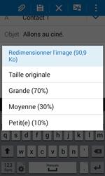 Samsung Galaxy Trend 2 Lite - E-mails - Envoyer un e-mail - Étape 17