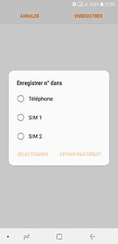 Samsung Galaxy A6 - Contact, Appels, SMS/MMS - Ajouter un contact - Étape 6