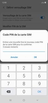 Samsung Galaxy Note10 - Securité - Modifier le code PIN de la carte SIM - Étape 11