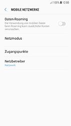 Samsung Galaxy A5 (2017) - Android Oreo - Ausland - Im Ausland surfen – Datenroaming - Schritt 8