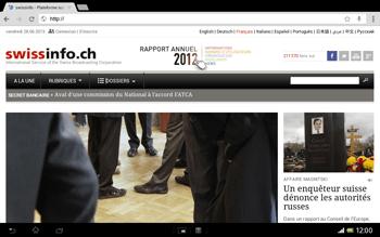 Sony Xperia Tablet Z LTE - Internet et roaming de données - Navigation sur Internet - Étape 17