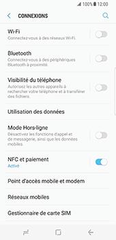 Samsung Galaxy S8 - Internet et roaming de données - Désactivation du roaming de données - Étape 5