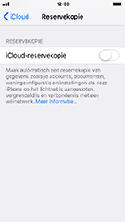 Apple iPhone 5s - iOS 12 - toestel resetten - back-up maken met jouw account - stap 12