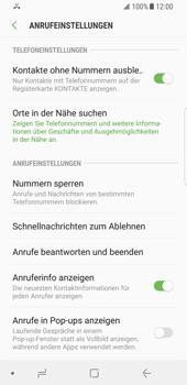 Samsung Galaxy S8 - Android Oreo - Anrufe - Anrufe blockieren - Schritt 6
