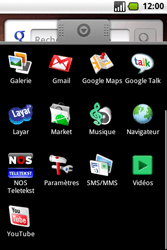 Samsung I7500 Galaxy - SMS - Configuration manuelle - Étape 3