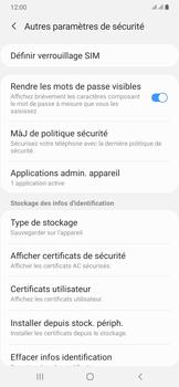 Samsung Galaxy A50 - Sécuriser votre mobile - Personnaliser le code PIN de votre carte SIM - Étape 6