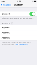 Apple iPhone 5s iOS 9 - Bluetooth - Jumelage d