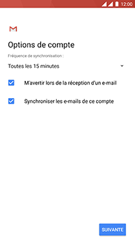 OnePlus 3 - Android Oreo - E-mail - Configurer l