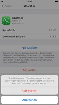 Apple iPhone 8 Plus - iOS 13 - Apps - Eine App deinstallieren - Schritt 7