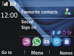 Nokia Asha 201 - SMS - Manual configuration - Step 1
