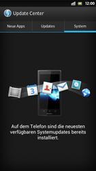 Sony Xperia S - Software - Installieren von Software-Updates - Schritt 8