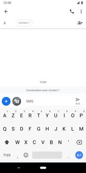 Google Pixel 3 - Contact, Appels, SMS/MMS - Envoyer un SMS - Étape 7