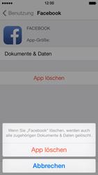 Apple iPhone 5s - Apps - Eine App deinstallieren - Schritt 7