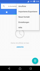 Sony Xperia Z5 (E6653) - Android Nougat - Anrufe - Rufumleitungen setzen und löschen - Schritt 5