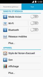Huawei Ascend Y530 - Internet - Configuration manuelle - Étape 3