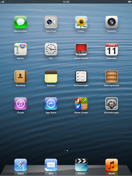 Apple iPad 4 - Software - Update - Schritt 1