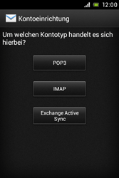Sony Xperia E - E-Mail - Konto einrichten - Schritt 7