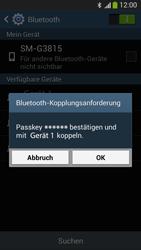 Samsung SM-G3815 Galaxy Express 2 - Bluetooth - Verbinden von Geräten - Schritt 8