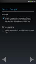 HTC One Max - Applicazioni - Configurazione del negozio applicazioni - Fase 14