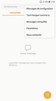 Samsung Galaxy J7 (2017) - SMS - Configuration manuelle - Étape 5