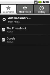 Samsung I7500 Galaxy - Internet - Internet browsing - Step 12