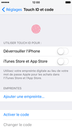 Apple iPhone SE - Sécuriser votre mobile - Activer le code de verrouillage - Étape 4