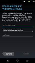 Sony Xperia T - Apps - Konto anlegen und einrichten - Schritt 8