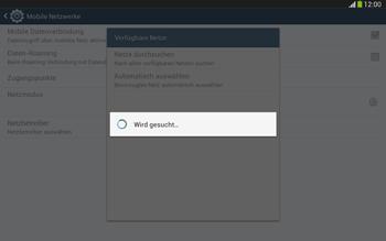 Samsung Galaxy Tab 3 10-1 LTE - Netzwerk - Manuelle Netzwerkwahl - Schritt 7