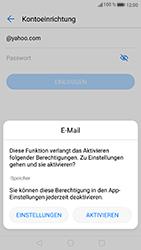 Huawei P8 Lite 2017 - E-Mail - Konto einrichten (yahoo) - Schritt 6