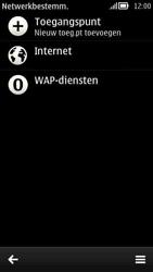 Nokia 808 PureView - Internet - handmatig instellen - Stap 9