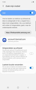 Samsung Galaxy Z Flip Single-SIM + eSIM (SM-F700F) - Beveiliging en ouderlijk toezicht - Zoek mijn mobiel inschakelen - Stap 8