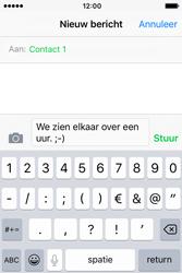 Apple iPhone 4S iOS 9 - MMS - hoe te versturen - Stap 7