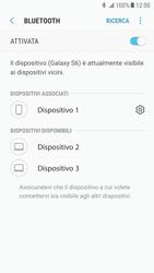 Samsung Galaxy S6 - Android Nougat - Bluetooth - Collegamento dei dispositivi - Fase 9