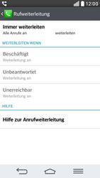 LG G2 mini - Anrufe - Rufumleitungen setzen und löschen - 2 / 2