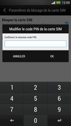 HTC One - Sécuriser votre mobile - Personnaliser le code PIN de votre carte SIM - Étape 9