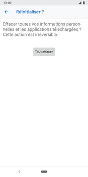 Google Pixel 3 - Aller plus loin - Restaurer les paramètres d'usines - Étape 9