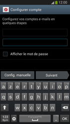 Samsung I9300 Galaxy S III - E-mail - Configuration manuelle (outlook) - Étape 6