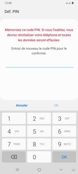 Samsung Galaxy A31 - Sécuriser votre mobile - Activer le code de verrouillage - Étape 9