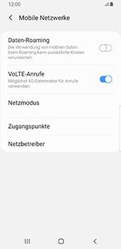 Samsung Galaxy S9 - Android Pie - Netzwerk - Manuelle Netzwerkwahl - Schritt 6