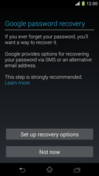 Sony Xperia Z1 Compact - Applications - Setting up the application store - Step 12