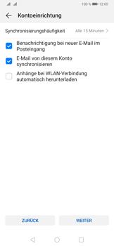 Huawei P30 Pro - E-Mail - 032b. Email wizard - Yahoo - Schritt 8