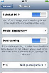 Apple iPhone 3G - MMS - handmatig instellen - Stap 5