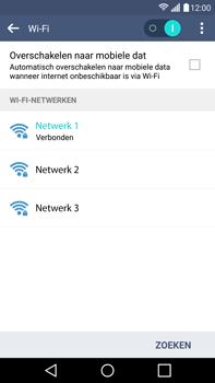 LG G4 - wifi - handmatig instellen - stap 9